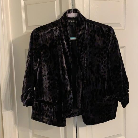 Express Jackets & Blazers - Velvet jacket